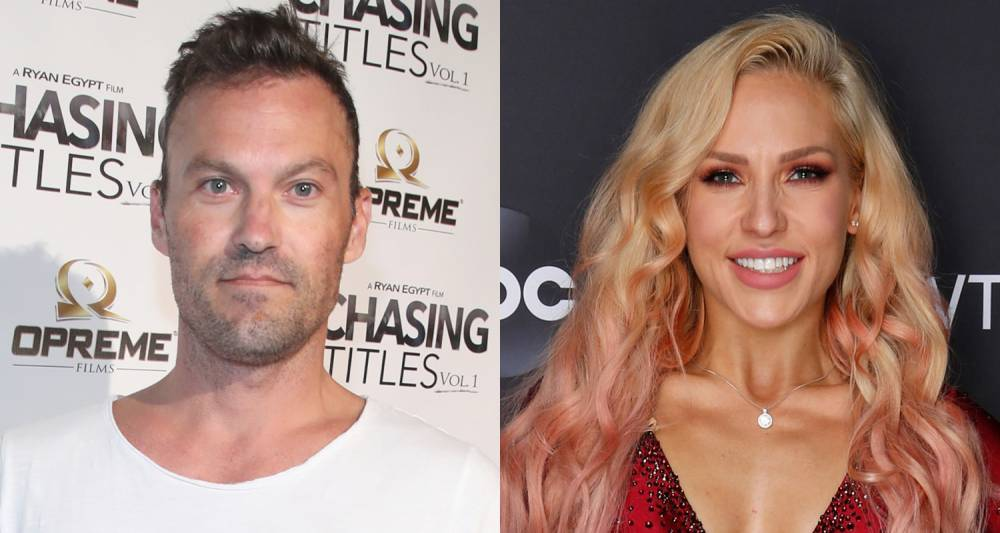 Celebs Rumors: Brian Austin Green & 'DWTS' Pro Sharna Burgess Spark Romance Rumors While Jetting Off on Vacation Together